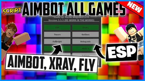 aimbot  games roblox unlimited ammo wallhack fly