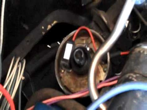 replace distributer  electronic ignition youtube