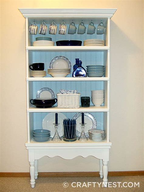 Small Bookshelf Cabinet by Diy Turn Bookcase Into China Cabinet Savvy Solution For