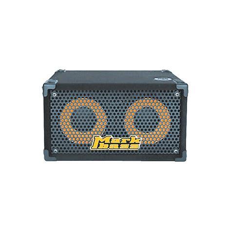 4 ohm speaker cabinet markbass traveler 102p rear ported compact 2x10 bass