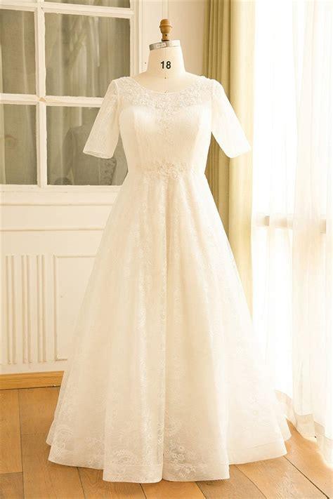 short sleeve corset  lace  size wedding