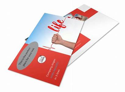 Donation Blood Postcard Template Centers Flyer Mycreativeshop