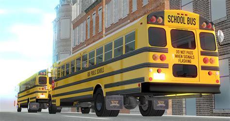 released voulks school bus pack