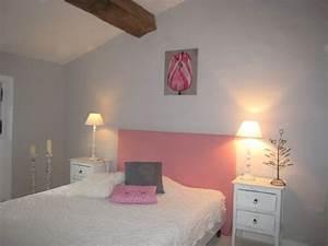 Chambre De Jeune Fille : chambre de jeune fille rose et grise chambre emy pinterest decoration and bedrooms ~ Preciouscoupons.com Idées de Décoration