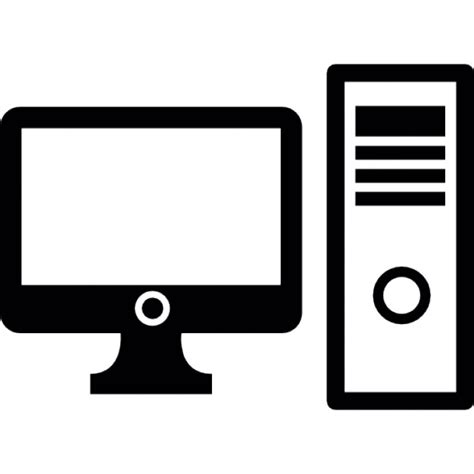 icone bureau gratuit ordinateur de bureau télécharger icons gratuitement