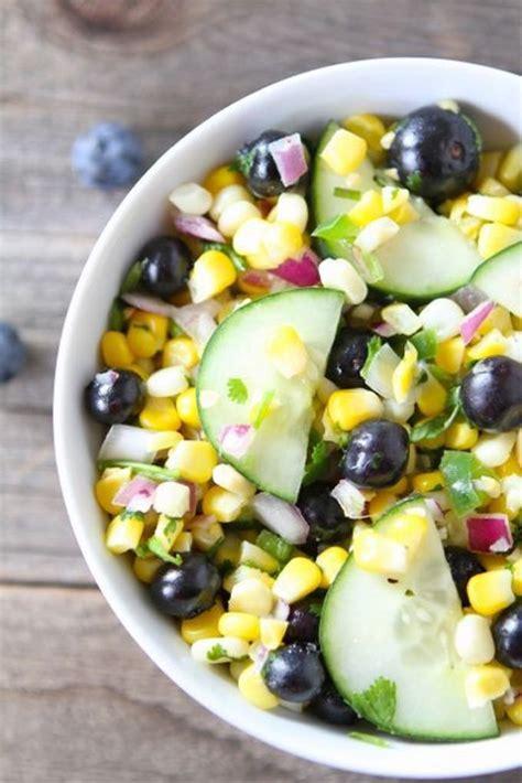 corn and blueberry salad corn and blueberry salad bigoven
