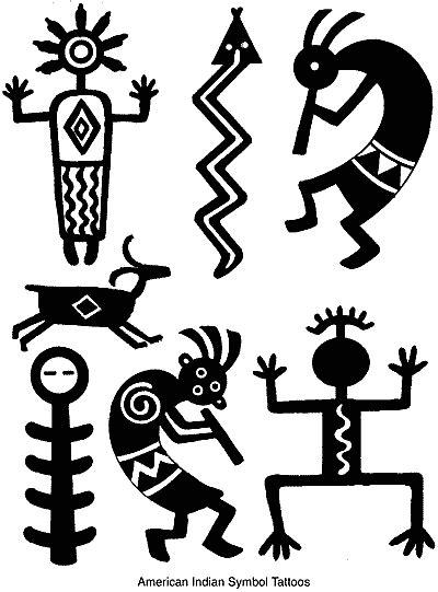 Anna Pomaska's Children's Art Portfolio - Native American