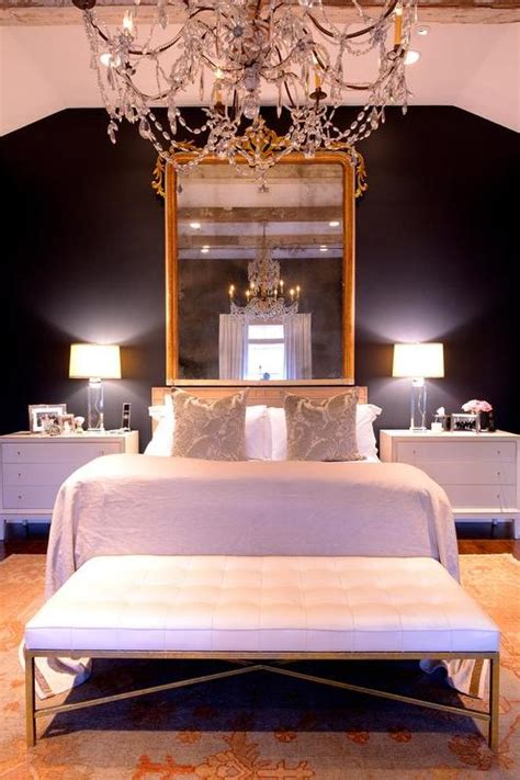 french bedroom  black walls french bedroom
