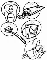 Coloring Dentist Bulk Bulkcolor Sheets sketch template