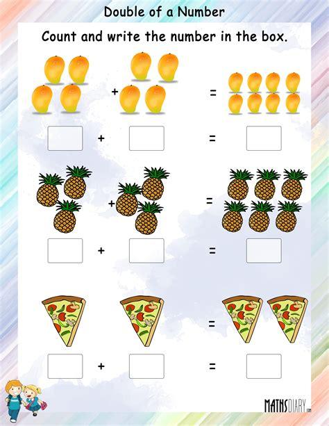 mental maths grade 1 math worksheets page 3