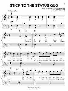 Stick To The Status Quo Sheet Music Direct