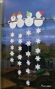 Fensterdeko Weihnachten Kinder : fensterbild winter schneemann schneeflocken basteln ~ Yasmunasinghe.com Haus und Dekorationen