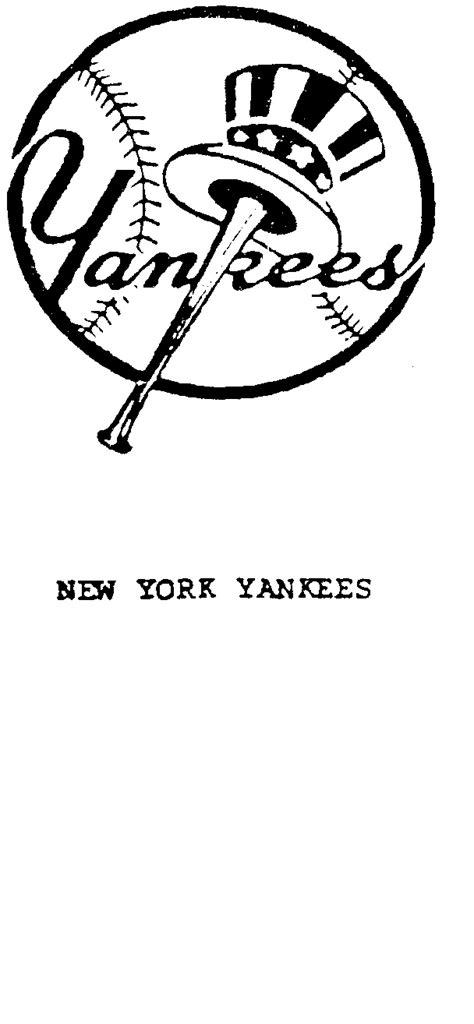 york yankees baseball logo coloring pages coloring pages