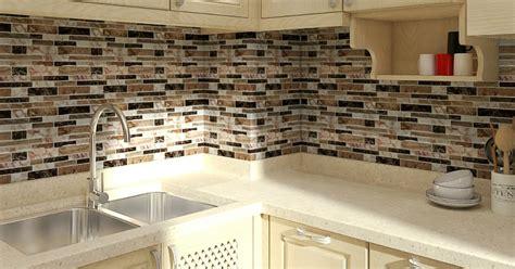 peel stick kitchen backsplash tile  walmart