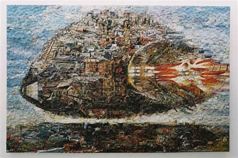 jigsaw puzzle collages colossal