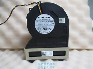 Brand New Foxconn Pvb120g12h P01 J50gh A00 12v 0 75 4wire For Optiplex 790 990 390 Sff Cpu Fan