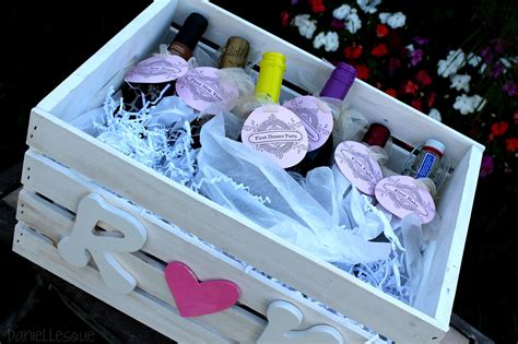 Bridal Shower Gifts by Daniellesque Bridal Shower Gift Basket Of Firsts