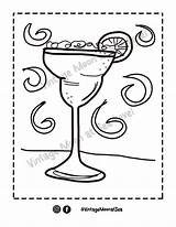 Margarita Coloring Printable sketch template