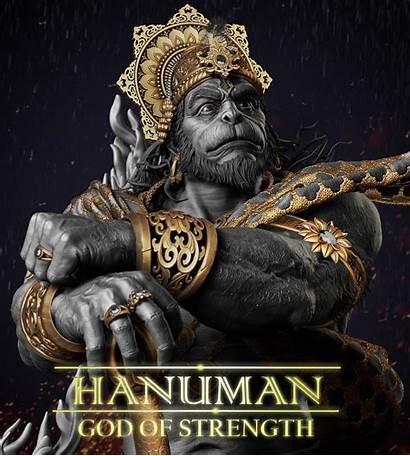Zbrush Hanuman God Kumar Gaurav 3d Models
