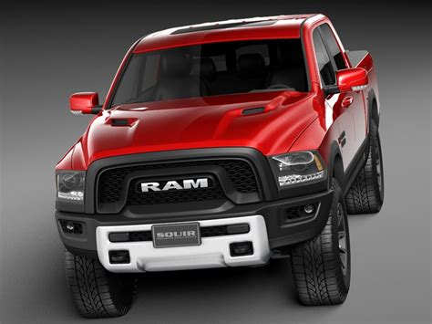 dodge ram  rebel   model cgstudio