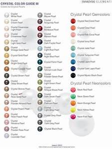 Swarovski Pearls Color Chart Swarovski Crystal Pearl Colour Chart Sunsetcrystals