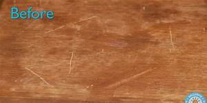 How To Remove Scratches From Wooden Furniture Using Nuts ...