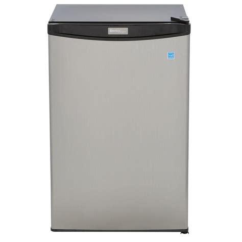 danby designer mini fridge danby designer 4 4 cu ft compact fridge in spotless