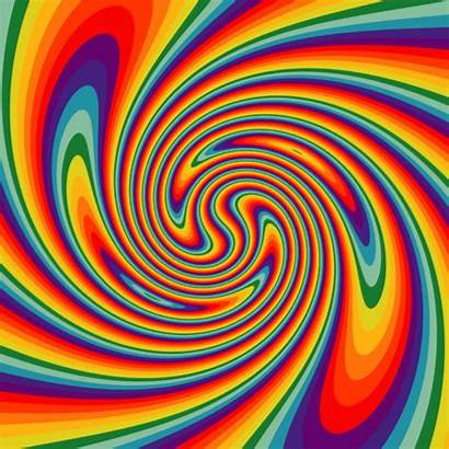 Trippy Gemini Cancer Psychedelic Leo Giphy Rainbow