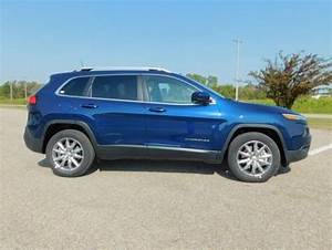 2018 Jeep Cherokee Limited 0 Miles Patriot Blue Pearlcoat
