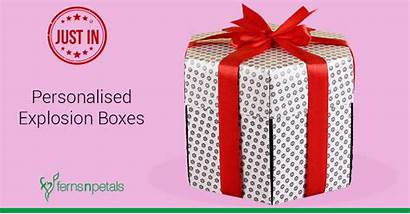 Gift Explosion Boxes Newly Launched Box Ferns