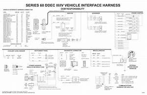 Diagrama De Cableado De La Serie Detroit Diesel 60 Ecm