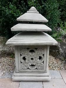 Laterne Garten Groß : laterne lichthaus steinfigur garten deko ~ Whattoseeinmadrid.com Haus und Dekorationen