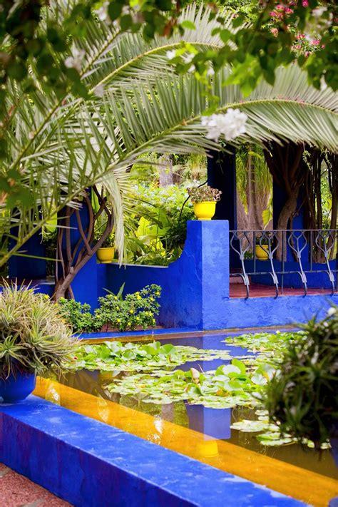 Französischer Garten Pflanzen by Jardin Majorelle Traum Marrakesch Mehr Im Tree