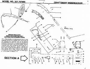 Parts Diagram For Craftsman Weedwacker 17 U0026 39  U0026 39  25cc