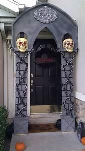 40, Cool, Halloween, Front, Door, Decor, Ideas