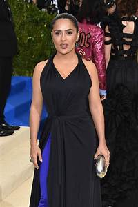 SALMA HAYEK at 2017 MET Gala in New York 05/01/2017 ...