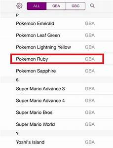 Pokemon Ruby Gba4ios Cheats U2019 Phoneresolve
