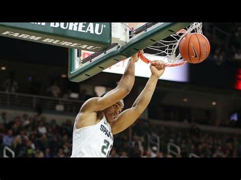 college basketball dunks    youtube