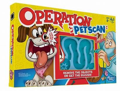 Operation Hasbro Pet Board Games Scan Remove