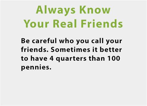 Know Who Your Real Friends Are Quotes