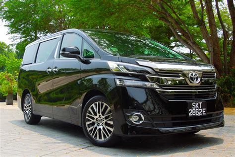 Review Toyota Vellfire by Toyota Vellfire Review Singapore