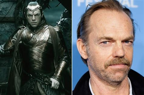 Lord Elrond The Stars Of The Hobbit Out Of Costume