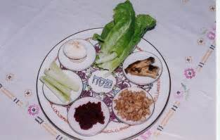 bitter herbs on seder plate pin the seder plate labeled on