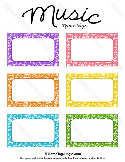 Name Tag Template Free Printable Name Tags The Template Can Also Be