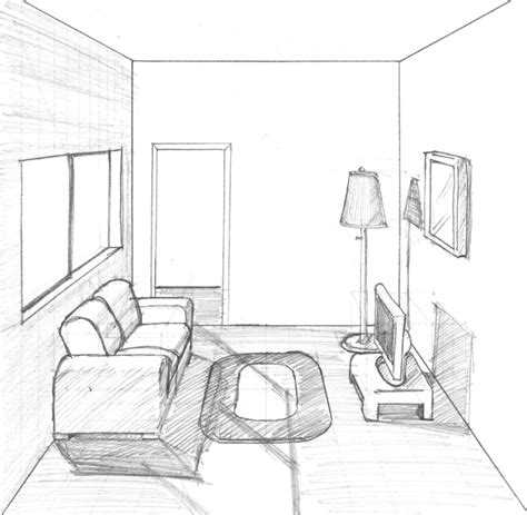 living room drawing living room 17 buildings and architecture printable