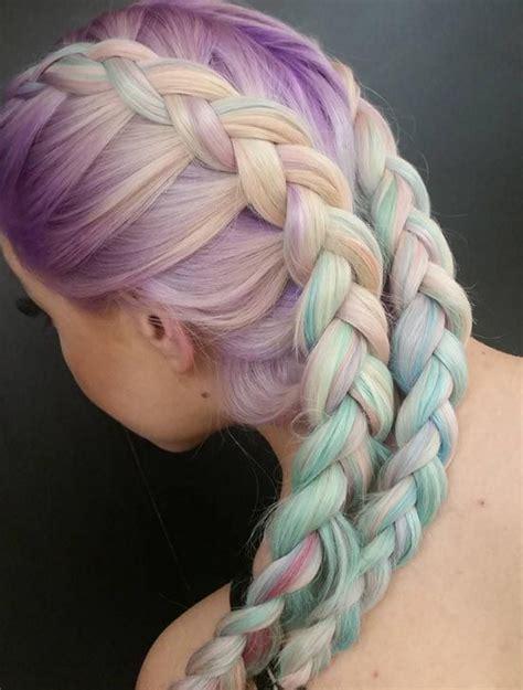 25 Best Ideas About Pastel Rainbow Hair On Pinterest