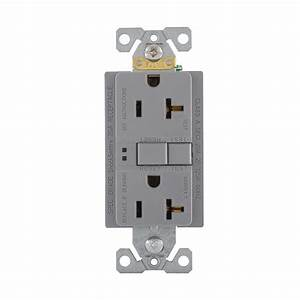 Cooper Wiring Device Sgf20gy Gfci Duplex Receptacle 20