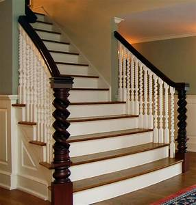 Antique Restoration - Traditional - Staircase - new york