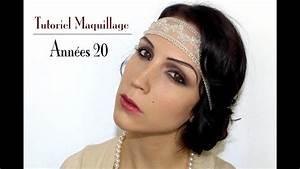 Tenue Des Années 20 : maquillage ann es 20 gatsby coiffure et costume youtube ~ Farleysfitness.com Idées de Décoration