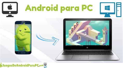 aplicacion rápida de descargar para android en pc